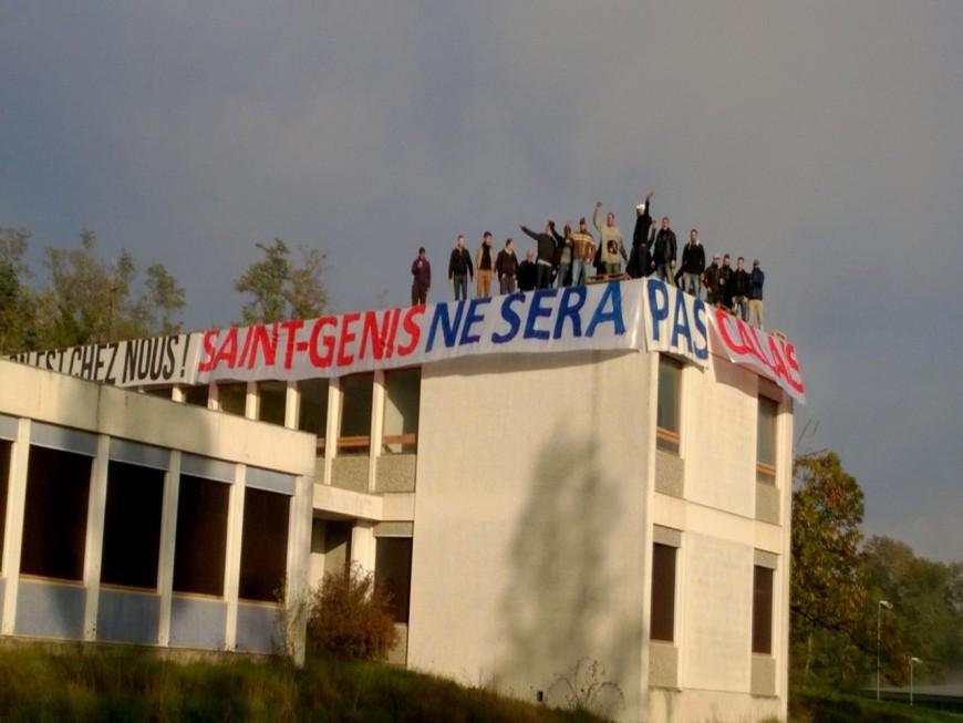 Action coup de poing des identitaires contre la venue de Roms à Saint-Genis-les-Ollières (Màj)