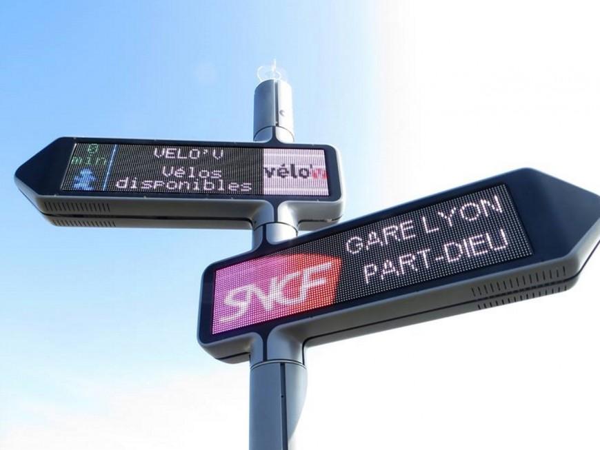 """iGirouette : la """"signalétique dynamique"""" s'installe à Lyon"""