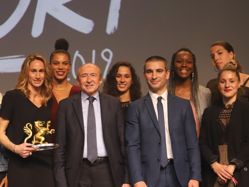 Lions du Sport : l'ASVEL féminin remporte le Lion d'Or