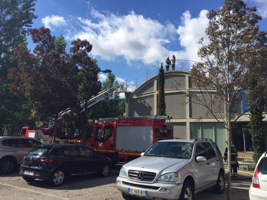 Lyon 2e : incendie au Selcius, le personnel évacué