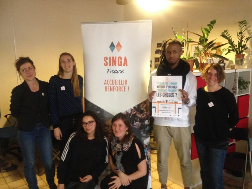 Lyon : une cinquantaine de réfugiés hébergés chez l'habitant grâce à l'association Singa