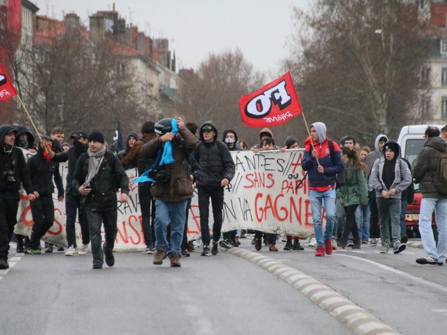 Loi Travail : la jeunesse lyonnaise de retour dans la rue ce jeudi