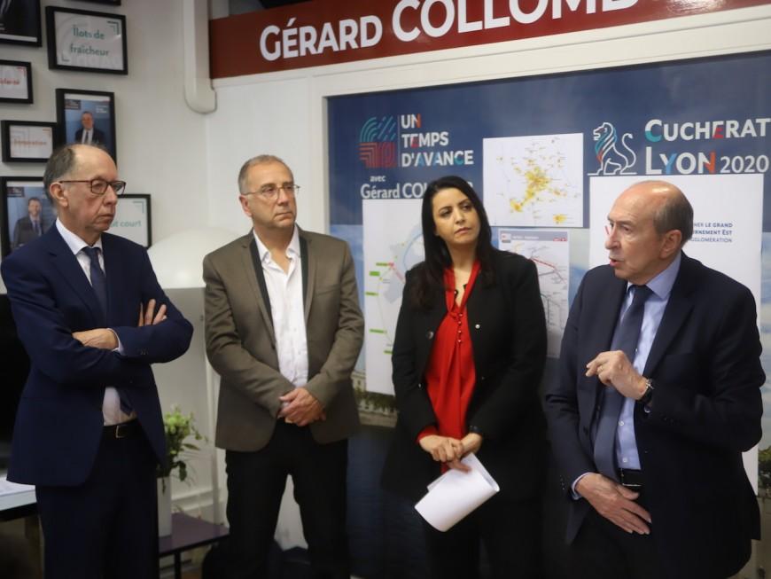 Métropolitaines 2020 : Gérard Collomb veut changer la façon de se déplacer à Lyon - VIDEO