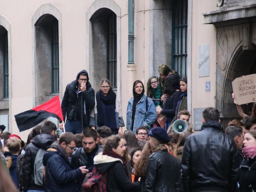 Manifestation de lycéens : 3 interpellations ce vendredi matin à Lyon