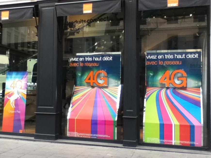 Orange lance à son tour la 4G publique à Lyon