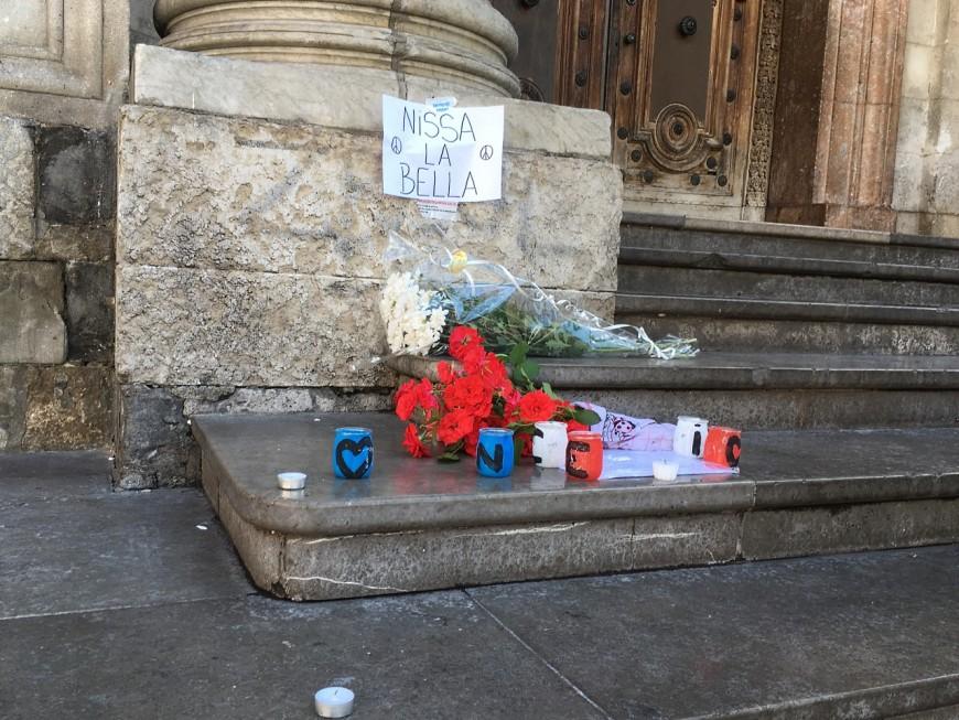 Lyon solidaire de Nice après l'attentat du 14 juillet
