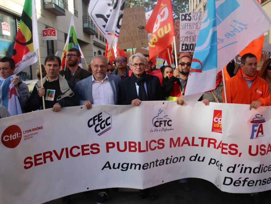 Grève dans la fonction publique : entre 6 000 et 12 000 manifestants à Lyon