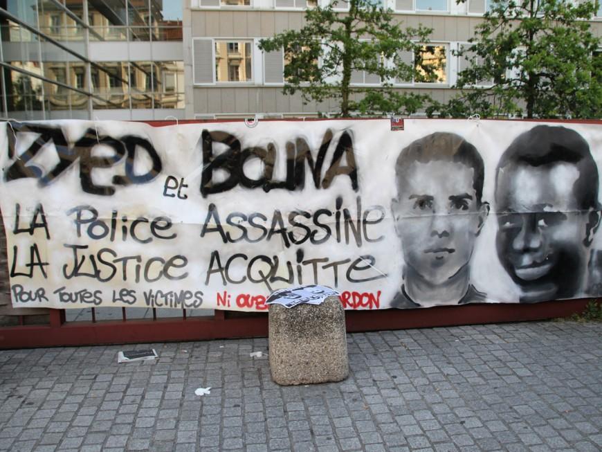 Lyon : une soixantaine de personnes pour rendre hommage à Zyed et Bouna