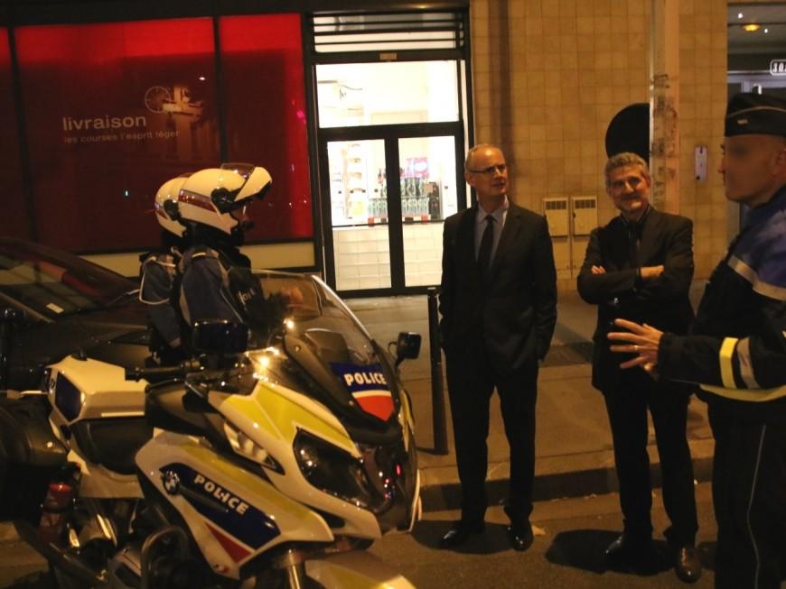 Le nouveau préfet du Rhône à la rencontre des policiers, un motard pincé à 149km/h pour l'occasion