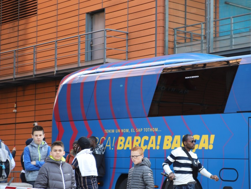 OL-Barça : en espérant voir Messi sortir de l'hôtel