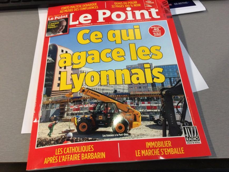 """Le Point s'intéresse à """"ce qui agace les Lyonnais"""""""