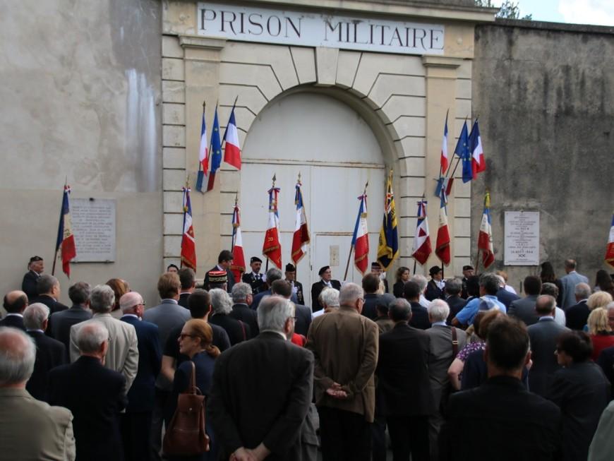 Plus de 200 personnes à la commémoration de la libération de la prison de Montluc