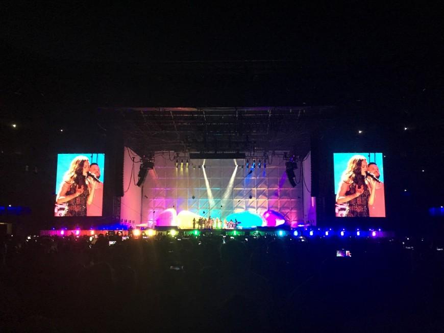 Avec le concert de Rihanna, le Parc OL réussit son baptême du feu