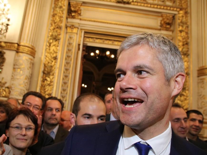 Régionales 2015 : Laurent Wauquiez élu dans un fauteuil en Auvergne Rhône-Alpes
