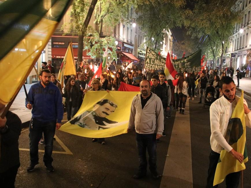 Lyon : 150 personnes dans les rues pour la journée mondiale pour Kobané