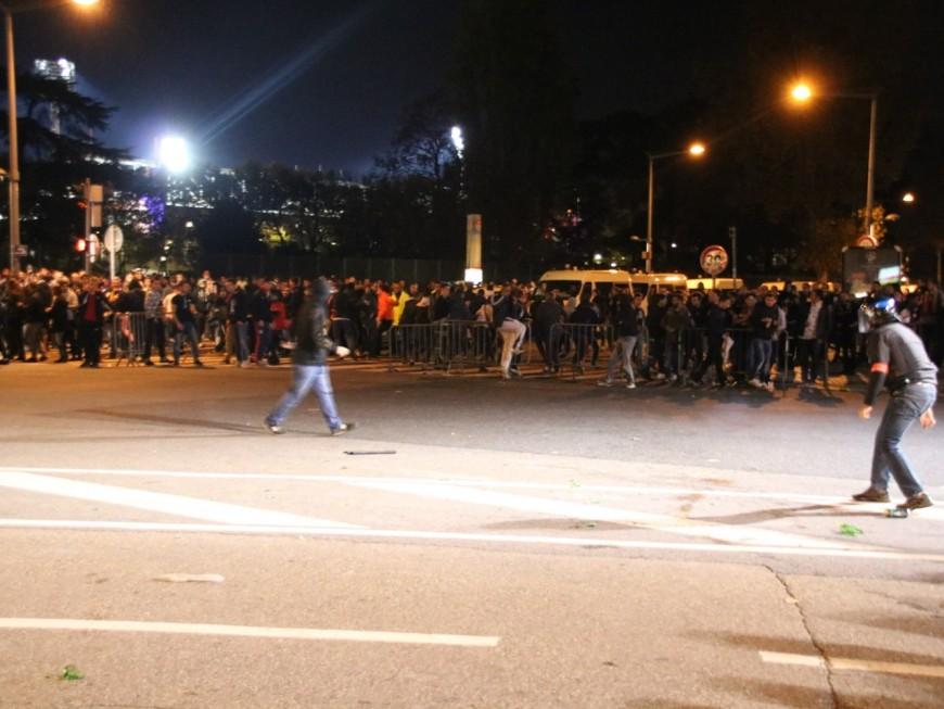 OL-ASSE : des heurts entre supporters et forces de l'ordre avant la rencontre