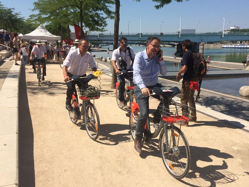 Lyon : le nouveau Vélo'v était à l'essai en avant-première !