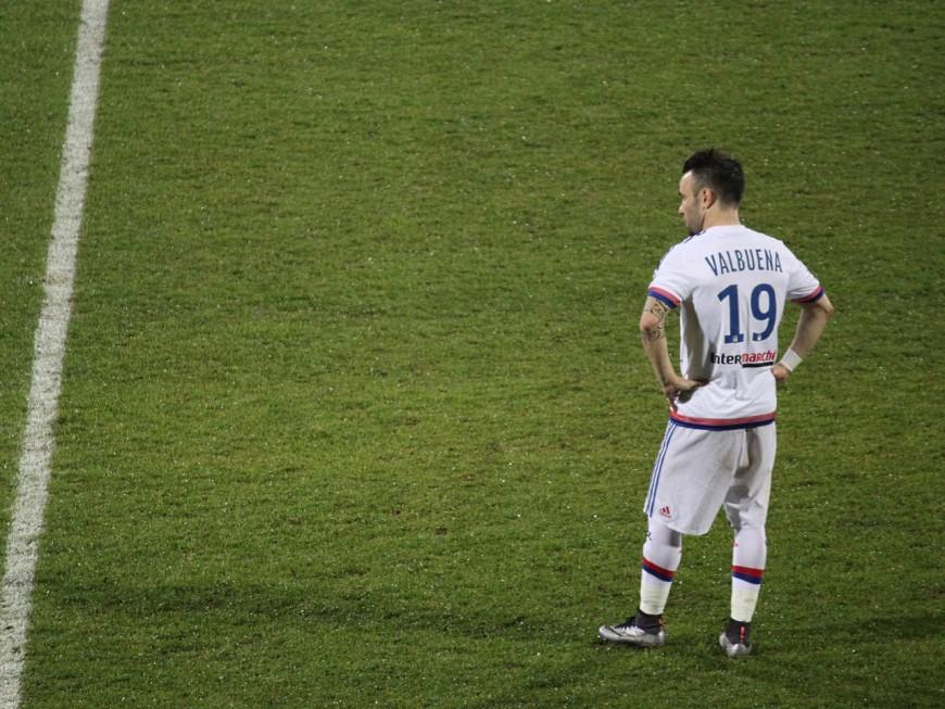 OL : Valbuena à son tour forfait