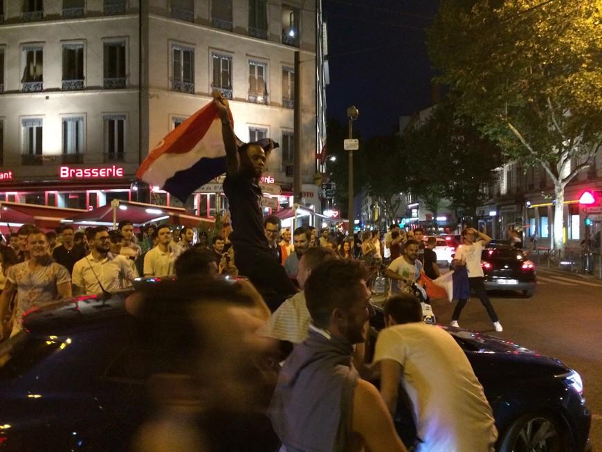 Coupe du Monde : Lyon a vibré, a tremblé et a fêté ça jusqu'au bout de la nuit