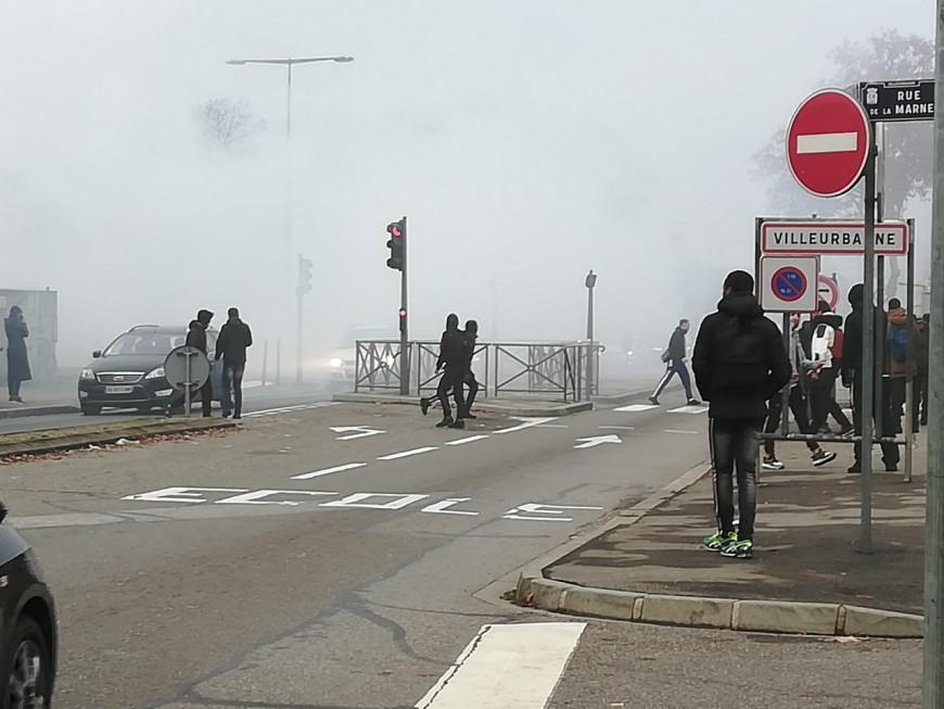 Lycées bloqués : de nouvelles échauffourées dans le Rhône