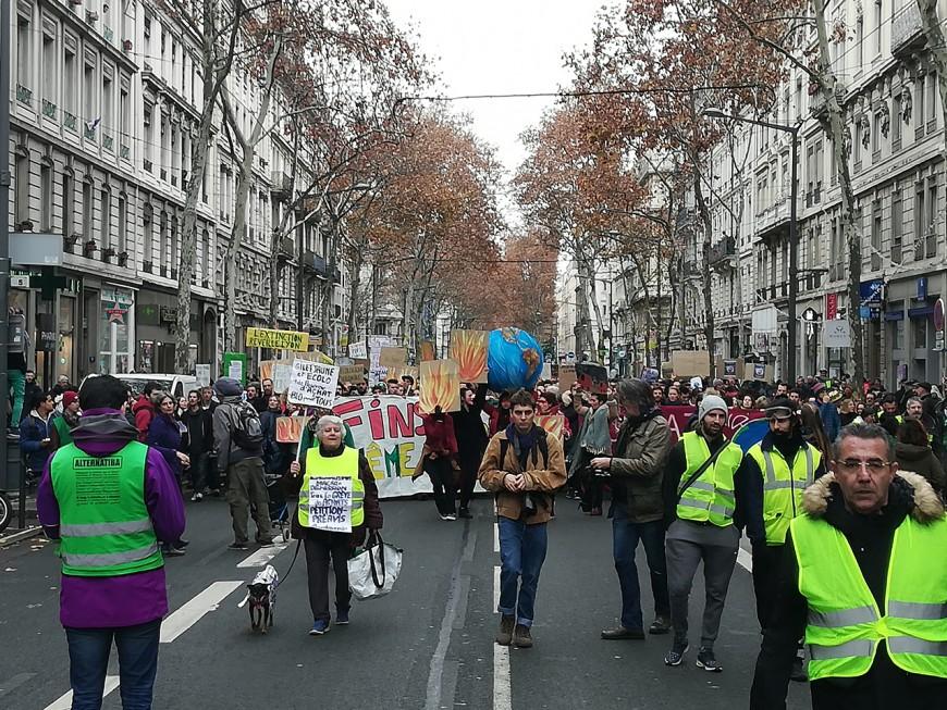 Lyon : une 3e Marche pour le climat moins suivie mais toujours impressionnante