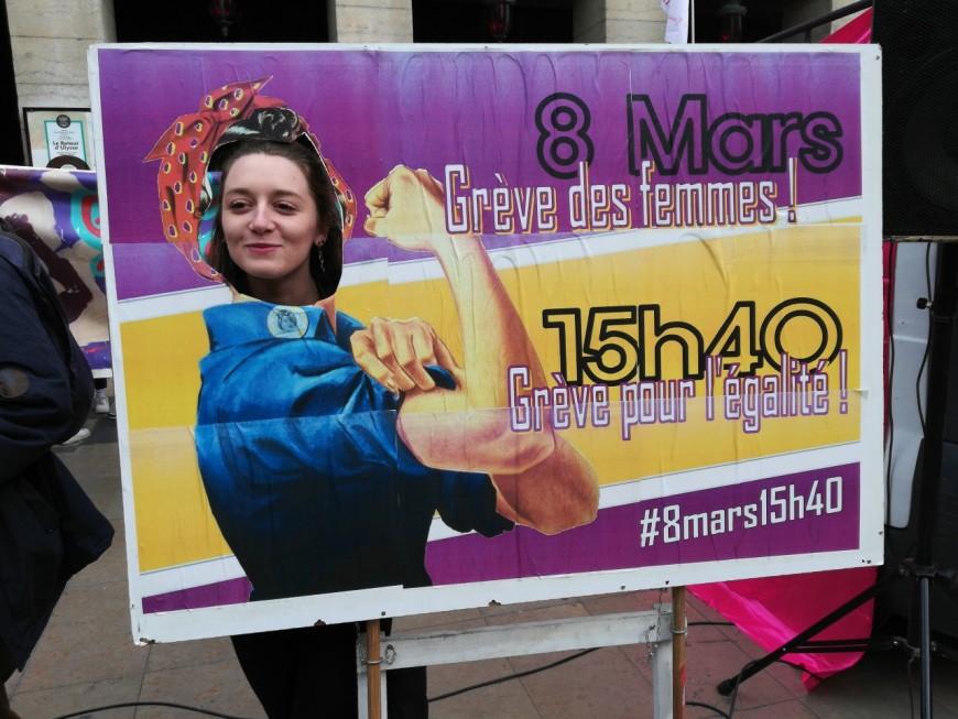 Journée internationale des droits de la femme : les Lyonnaises ont manifesté à partir de 15h40