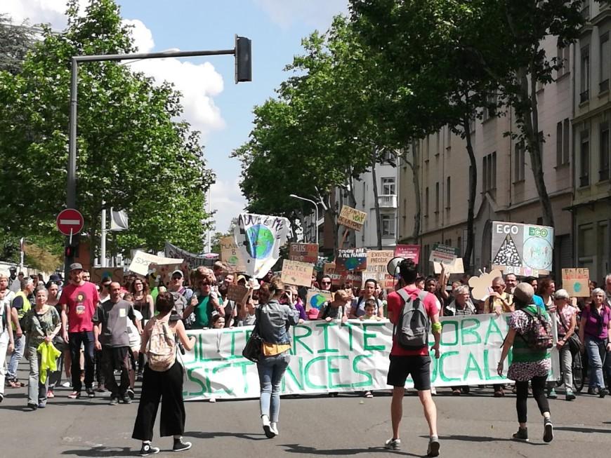 Lyon : une manifestation conjointe entre Marche pour le Climat et gilets jaunes