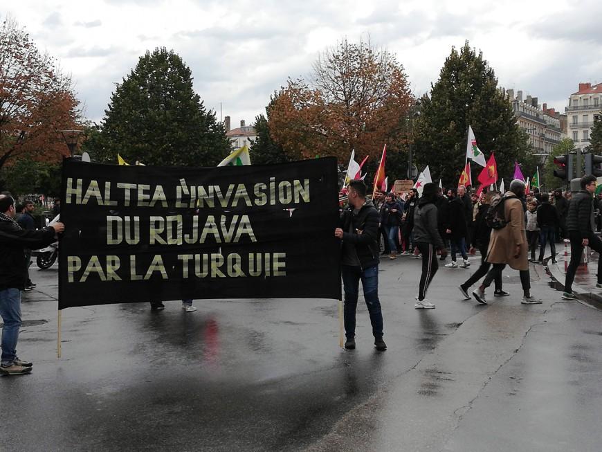Kurdes : 250 personnes ont manifesté à Lyon