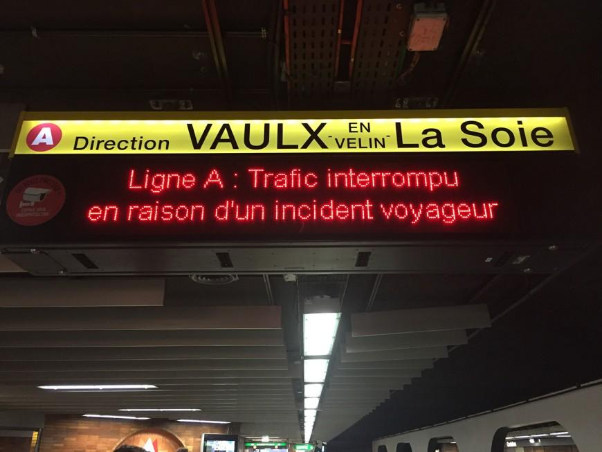Lyon : ils tentent de s'introduire dans le tunnel, le métro bloqué deux heures