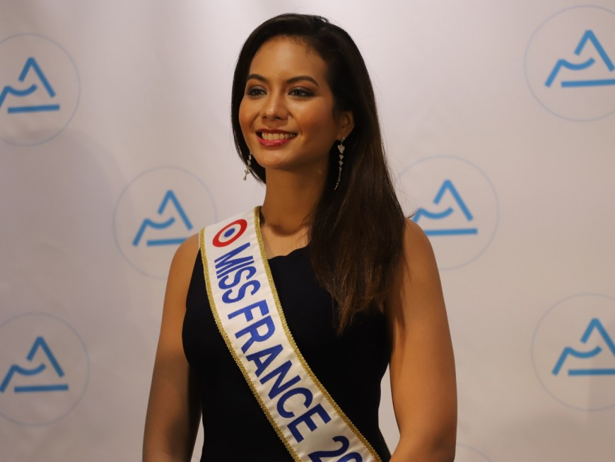 Miss France à Lyon pour parler du harcèlement scolaire