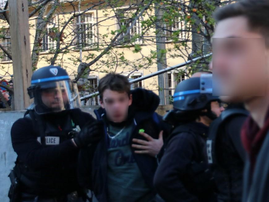 Loi Travail : trois nouvelles interpellations durant la manifestation à Lyon