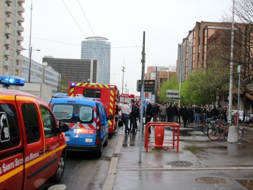 Lyon : une odeur suspecte entraîne l'évacuation de la direction des comptes publics
