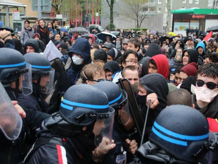 Lyon : la manif contre la loi Travail a repris après des incidents