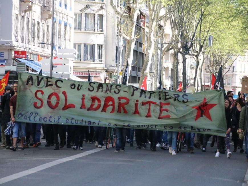 Loi Travail, sans papiers : une nouvelle mobilisation à Lyon