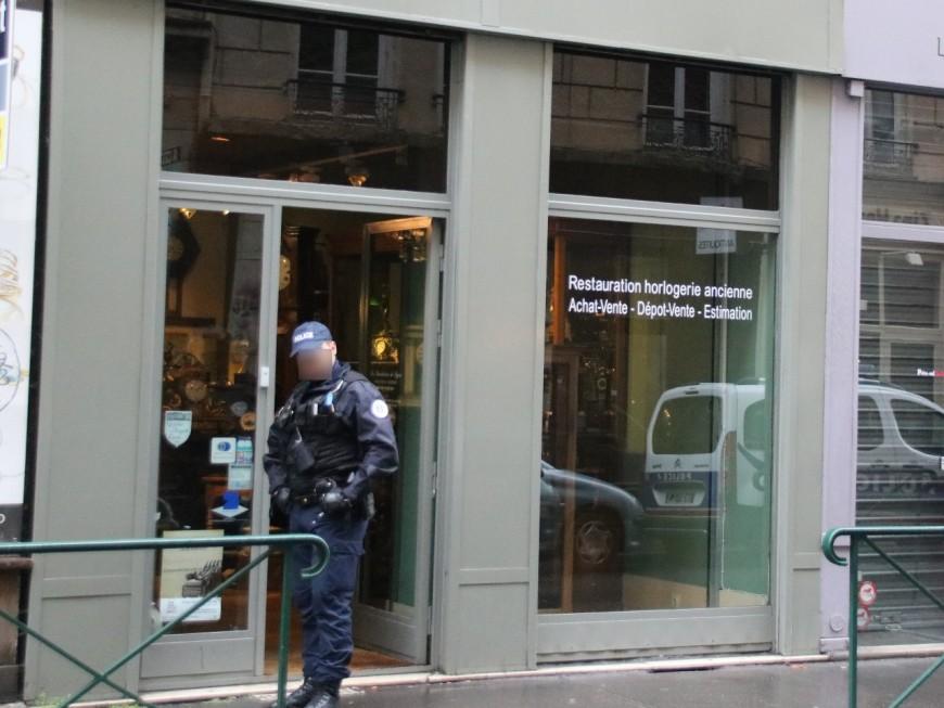 Lyon : un magasin d'horlogerie braqué ce jeudi matin, le gérant blessé par balle
