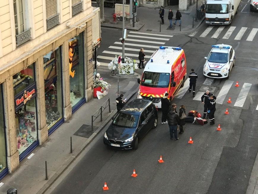 Lyon : un nouvel accident cours Vitton impliquant un piéton