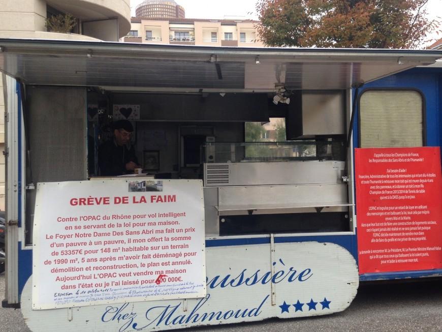 Lyon : un vendeur de kebabs en grève de la faim pour récupérer un terrain