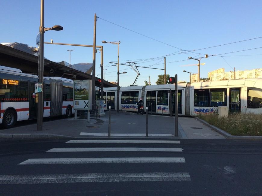 Lyon : le tram T1 perturbé suite à un incident technique