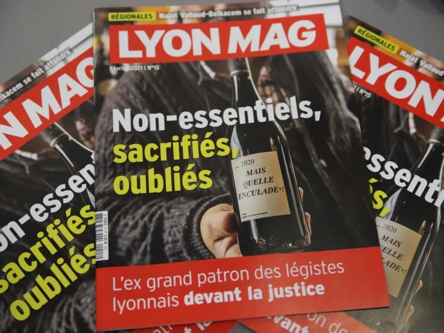 Les non-essentiels sacrifiés en Une de LyonMag !