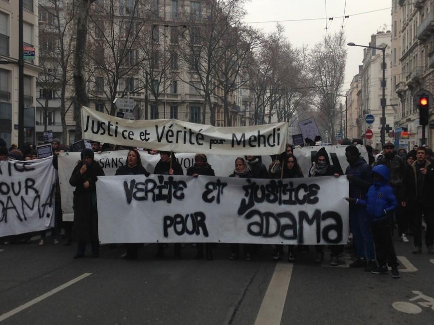 """Lyon : 350 personnes ont réclamé """"justice et vérité pour Adama"""""""