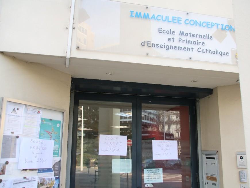 Lyon : une école fermée après le suicide sur place d'un cuisinier