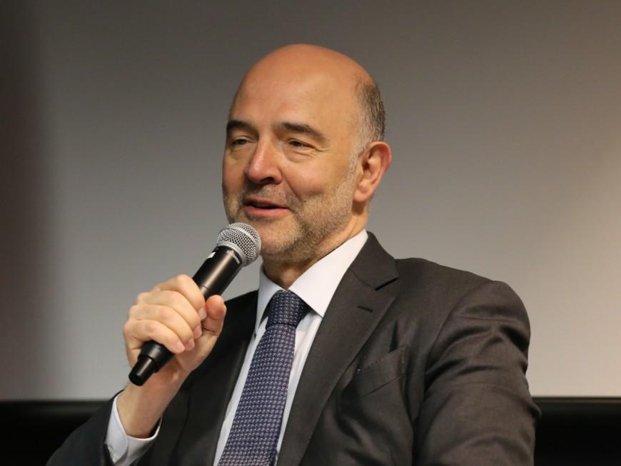 Pierre Moscovici en visite à Lyon : l'Europe fait un pas de plus vers la Région