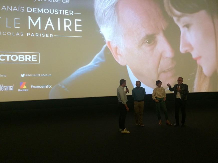 Fabrice Luchini fait le show pour Alice et le Maire, le film que Gérard Collomb a voulu bouter hors de Lyon