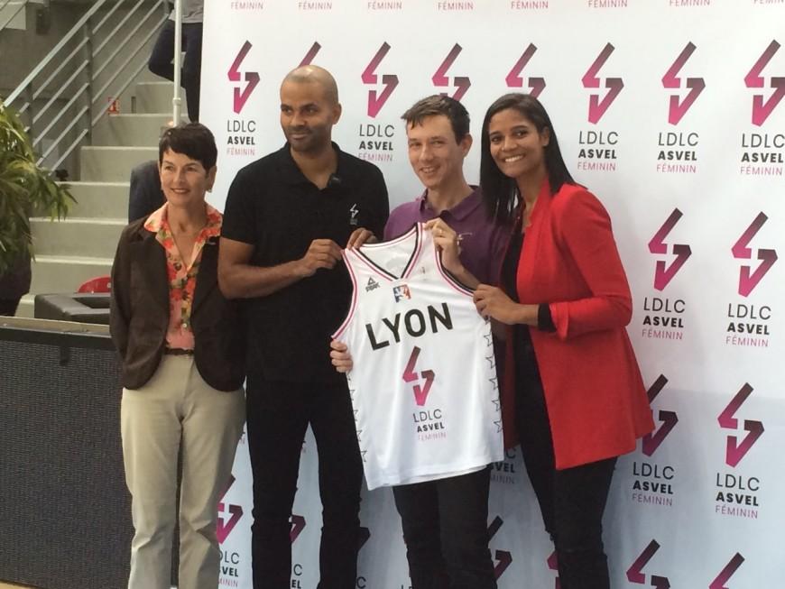 Basket : LDLC ASVEL Féminin, dernier né de l'entente Parker-de la Clergerie
