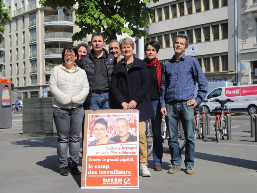 """Européennes : à Lyon, Lutte Ouvrière """"veut faire le plus possible"""""""