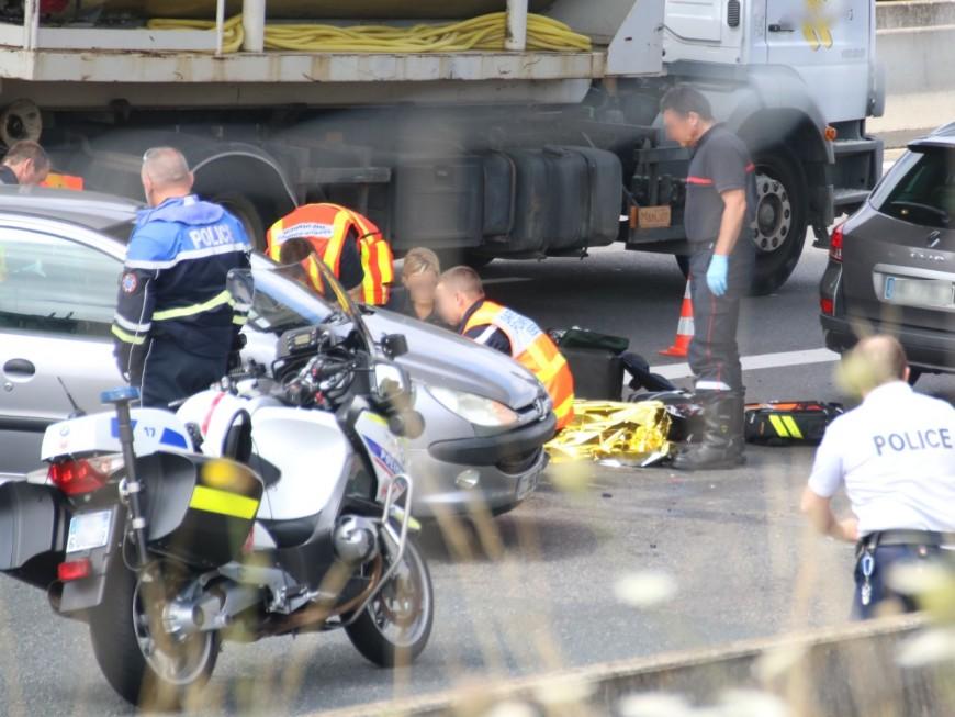 Deux blessés légers après un accident sur l'A46