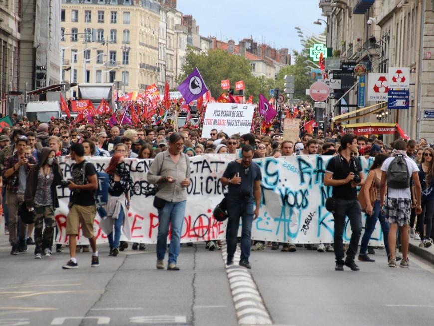 Lyon : plus de 2000 personnes ont repris le chemin de l'opposition à la loi Travail