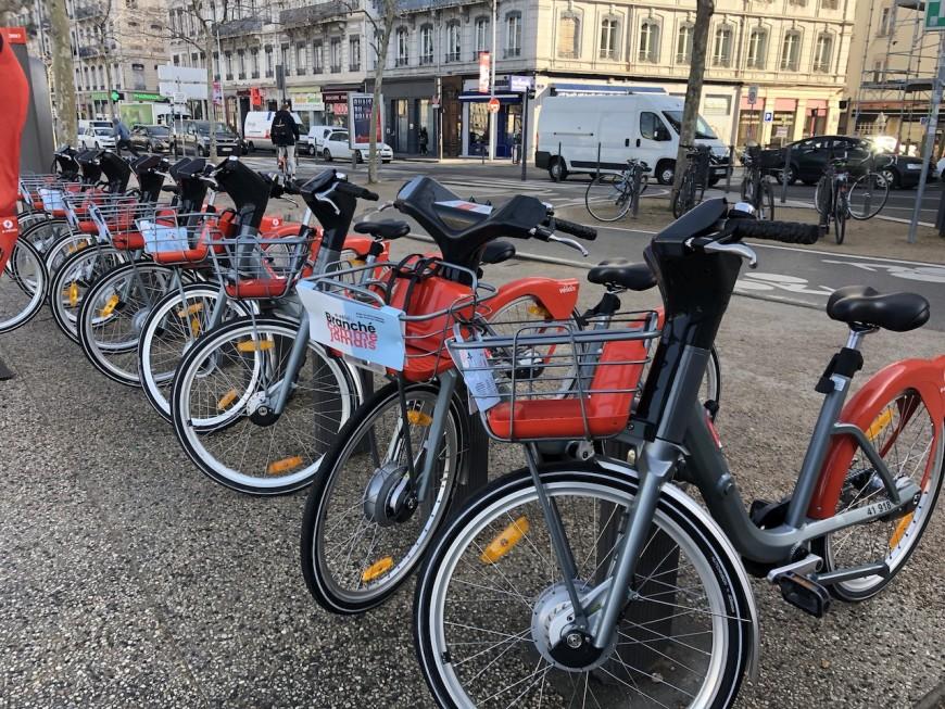 Les Vélo'v hybrides mis en place à Lyon - VIDEO