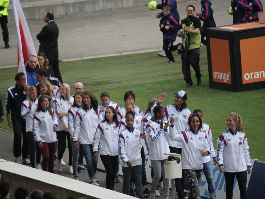 L'OL féminin va recevoir ce dimanche son trophée de champion de France