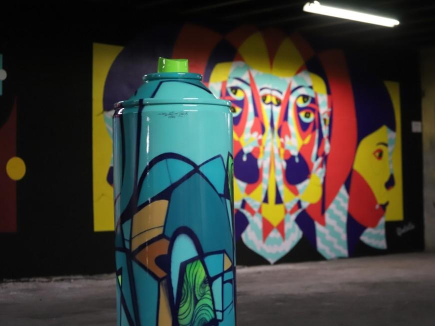 """Avec le """"Peinture Fraîche Festival"""", le street-art lyonnais prend une autre dimension - VIDEO"""